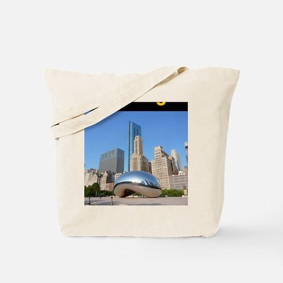 Chicago_5.5x8.5_Journal_Bean Tote Bag