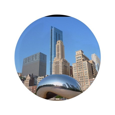 "Chicago_5.5x8.5_Journal_Bean 3.5"" Button"