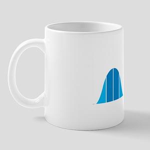 Bell Curve, Science Humor Mug