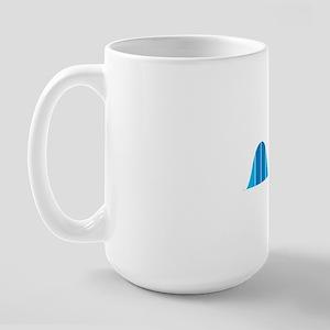 Bell Curve, Science Humor Large Mug