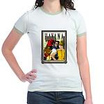 Havana, Cuba Jr. Ringer T-Shirt