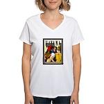 Havana, Cuba Women's V-Neck T-Shirt