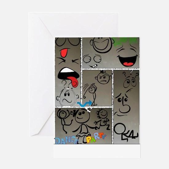 Mood Swings Greeting Card