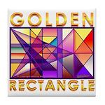 Golden Rectangle Tile Coaster