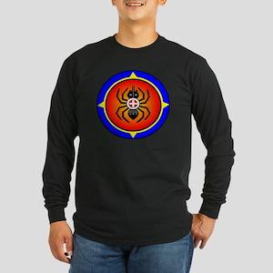CHEROKEE WATER SPIDER Long Sleeve Dark T-Shirt