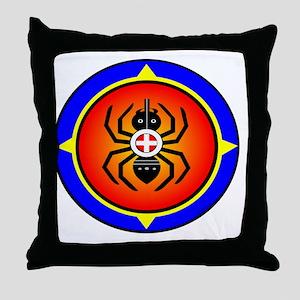 CHEROKEE WATER SPIDER Throw Pillow