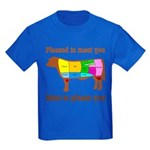 Meat to Please You Kids Dark T-Shirt