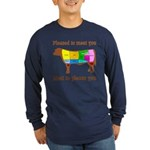 Meat to Please You Long Sleeve Dark T-Shirt