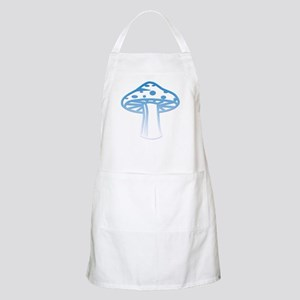 Light Blue Shroomz BBQ Apron