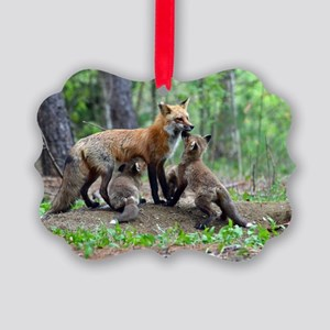 11 x 17 print Picture Ornament