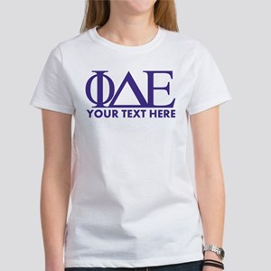 Phi Delta Epsilon Le Women's Classic White T-Shirt