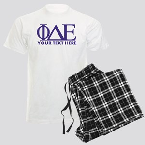Phi Delta Epsilon Letters Per Men's Light Pajamas