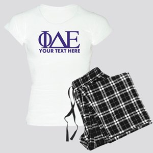 Phi Delta Epsilon Letters P Women's Light Pajamas