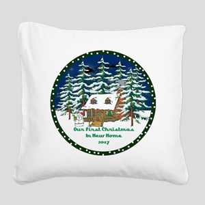 2017 Square Canvas Pillow