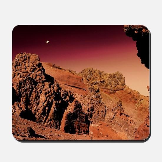 Martian landscape Mousepad