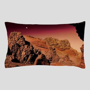 Martian landscape Pillow Case