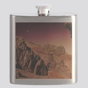 Martian landscape Flask
