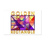 Golden Rectangle Mini Poster Print