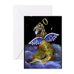 Golden Angel Greeting Cards (Pk of 10)