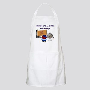 Scary Ride BBQ Apron
