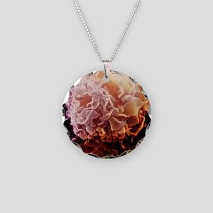 Macrophage, SEM Necklace Circle Charm