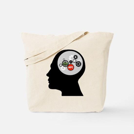 AFC/HUB Gearhead Logo Tote Bag