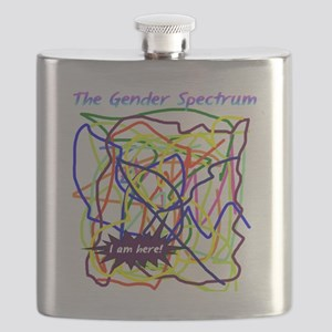 The Gender Spectrum Flask