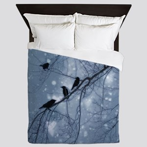 Hearts And Snow Queen Duvet
