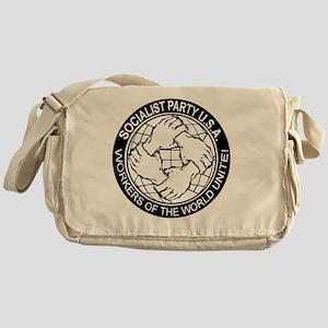 Socialist Party Logo Messenger Bag