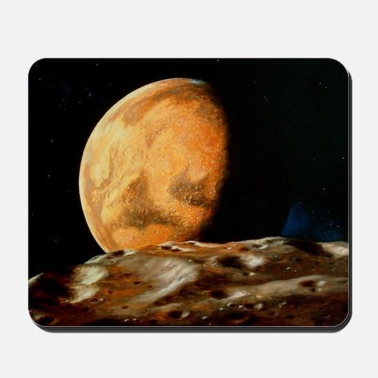 Mars seen from Deimos Mousepad