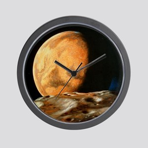 Mars seen from Deimos Wall Clock