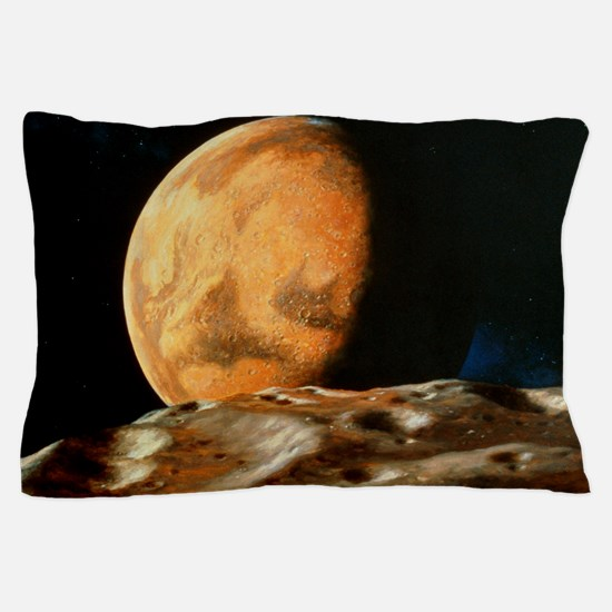 Mars seen from Deimos Pillow Case