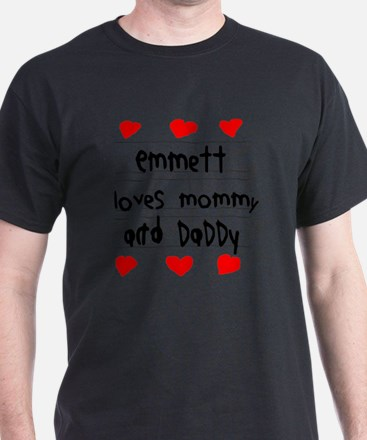 Emmett Loves Mommy and Daddy T-Shirt