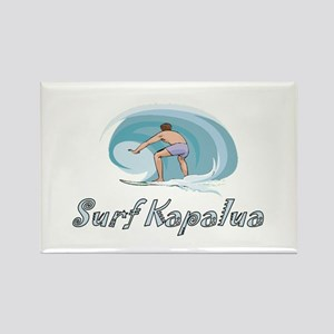 Surf Kapalua, Hawaii Rectangle Magnet