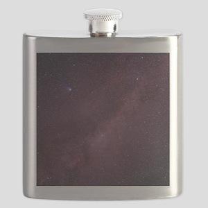 Milky Way showing Comet Halley Flask