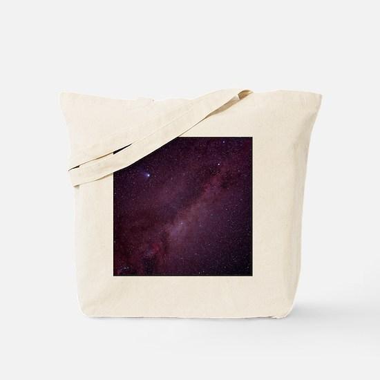 Milky Way showing Comet Halley Tote Bag