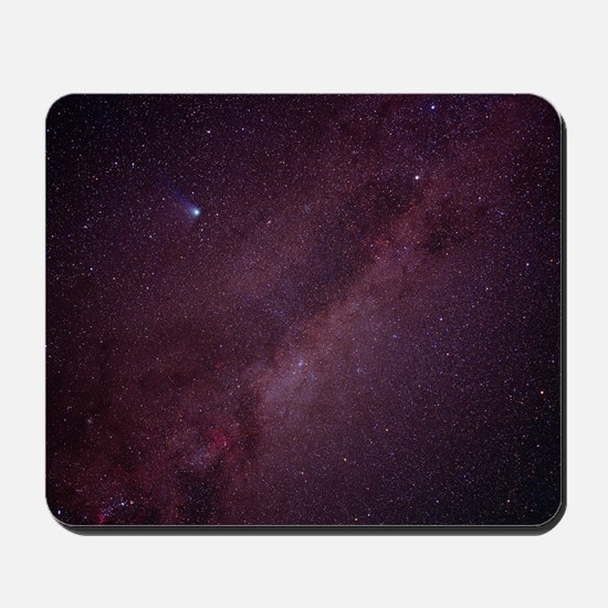 Milky Way showing Comet Halley Mousepad