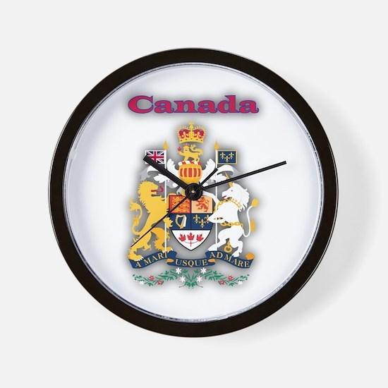 Canada Products v1 Wall Clock