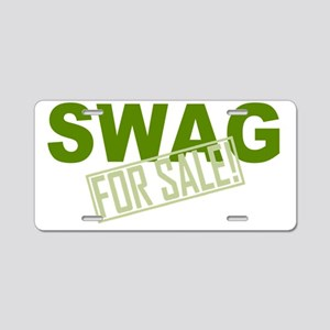 Swag for Sale Aluminum License Plate