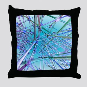 Nerve cells Throw Pillow