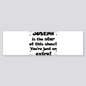Joseph is the Star Bumper Sticker
