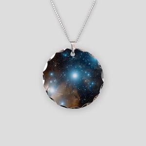 Orion's belt Necklace Circle Charm