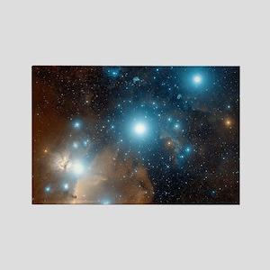 Orion's belt Rectangle Magnet