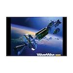 WarpShip Mini Poster