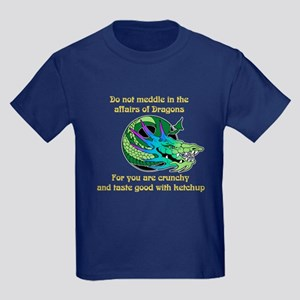 Dragon Crunchies Kids Dark T-Shirt
