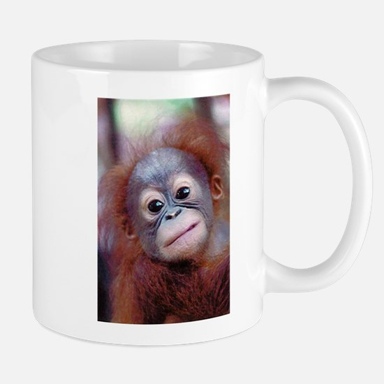 Baby Orangutan Look at Me Coffee Mug