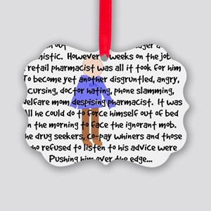 pharmacist story art 1 male Picture Ornament