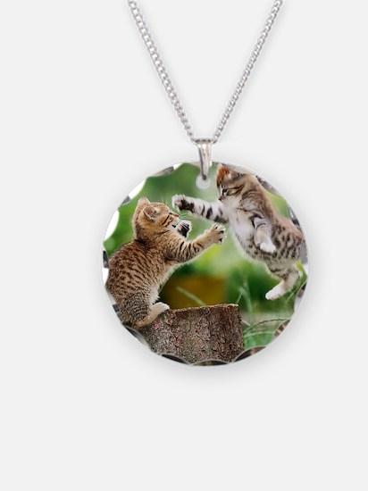 Ninja Kittens Necklace