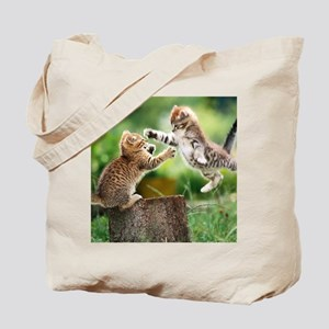 Ninja Kittens Tote Bag