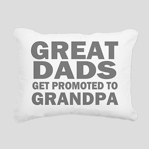 great dads grandpa Rectangular Canvas Pillow